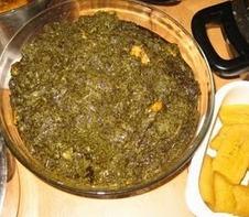 Feuilles de manioc aka Saka-Saka
