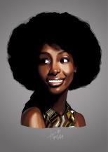 African Woman by Gokta